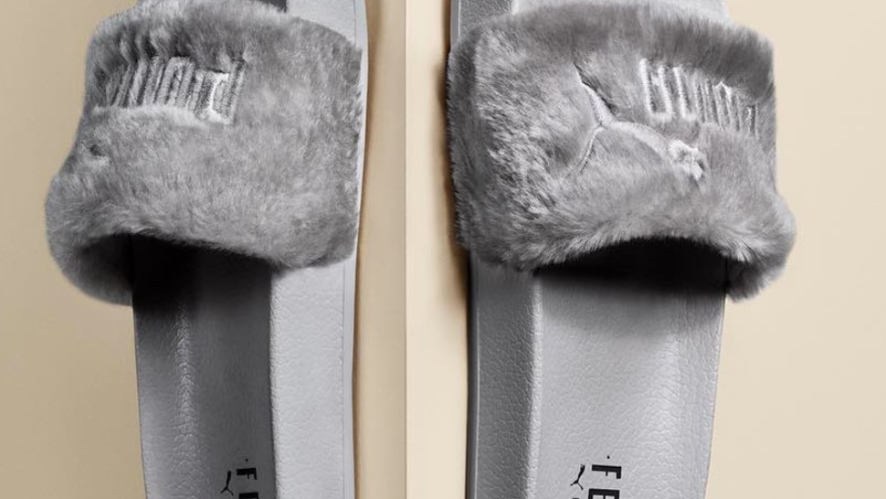 quality design 399ea f3290 What's Different With Rihanna's New Fenty Puma Slides? It's ...