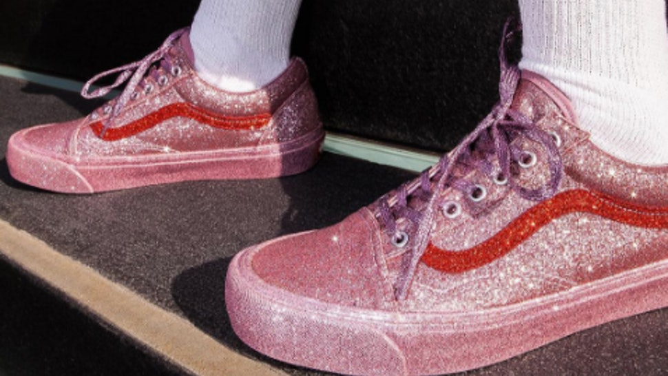 caeb94ec598 Are The Opening Ceremony Glitter Vans Sold Out  Here s The Status On The  Sneakers