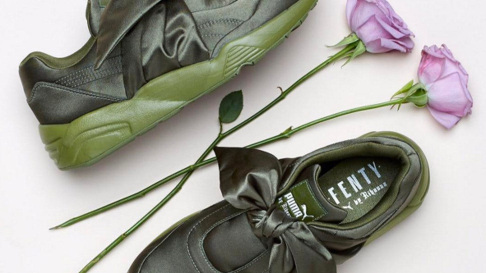 reputable site 64e69 0a5ee Are Rihanna's Fenty Puma Bow Sneakers Sold Out? There's ...