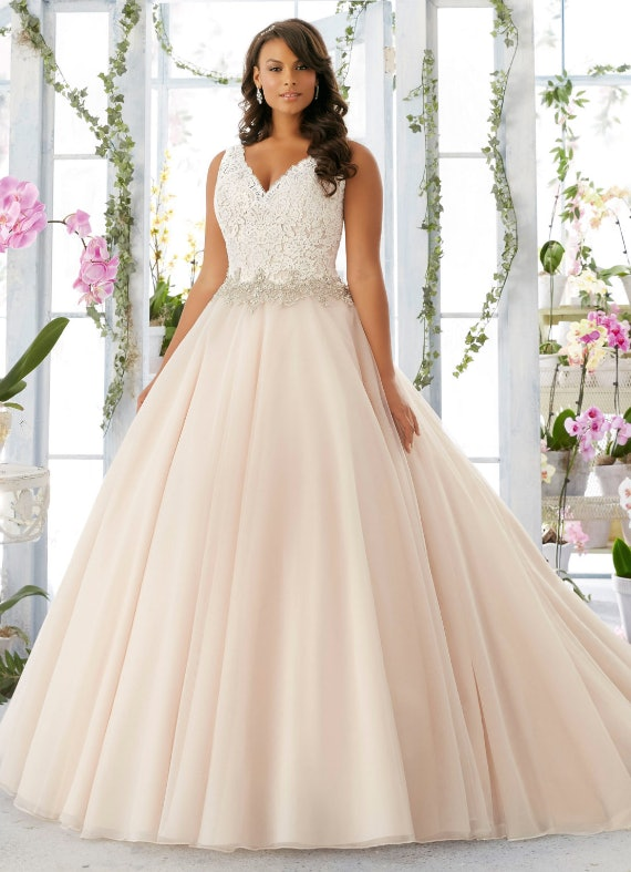 Morilee Bridal Embroidered Lace Bodice Edged With Beading On Tulle Wedding Dress Price Ointment At Your Nearest Stockist See