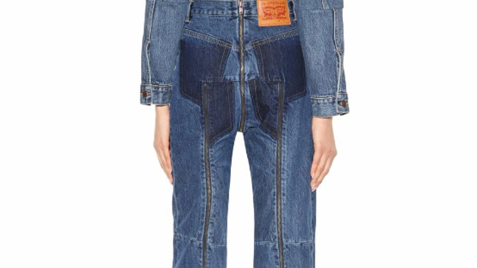 These Butt Zipper Jeans From Vetements X Levis Are The Latest