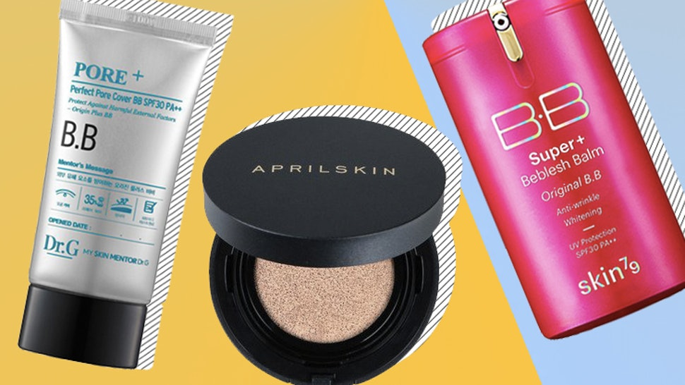 The 8 Best Korean BB Creams With High SPF That Are Blurring