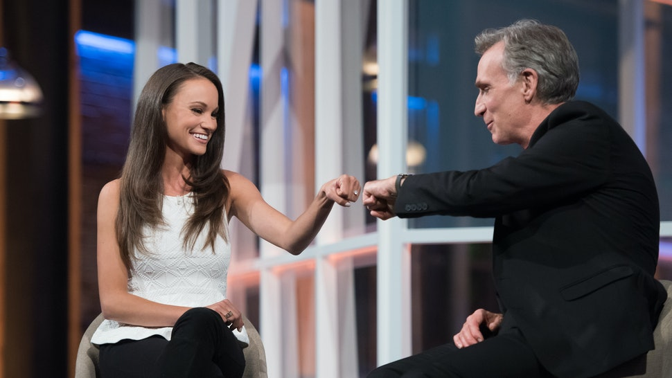who is emily calandrelli the bill nye saves the world