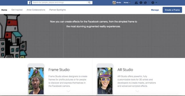 How To Make Your Own Facebook Mask Using Frame Studio