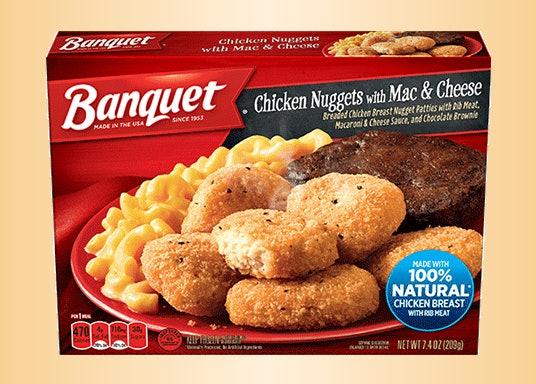 Conagra Issues Public Health Alert For Banquet Chicken Nugget Meals