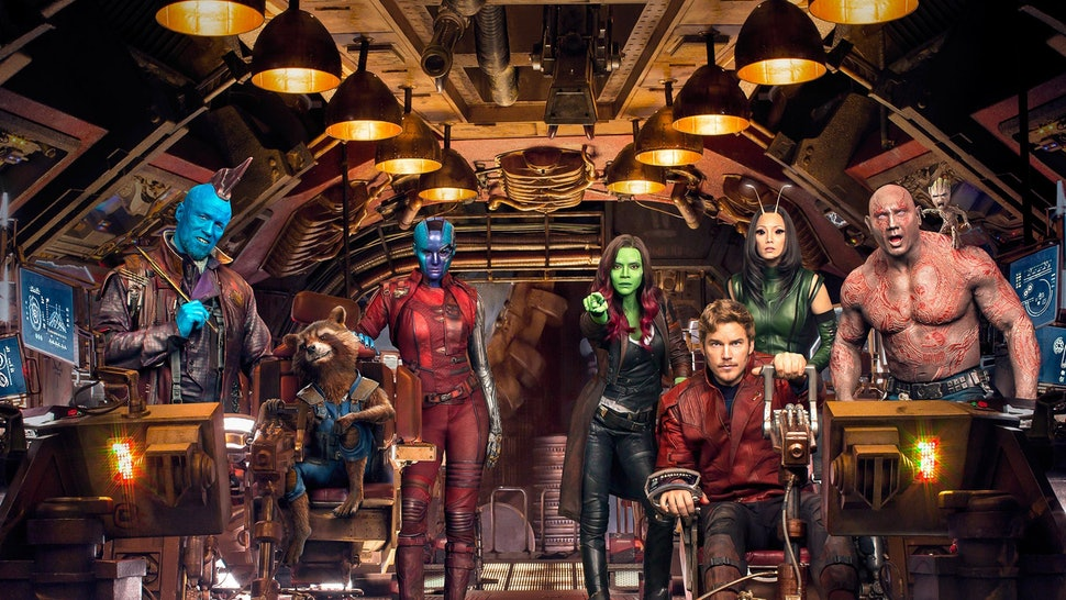 what happened between guardians of the galaxy 2 avengers