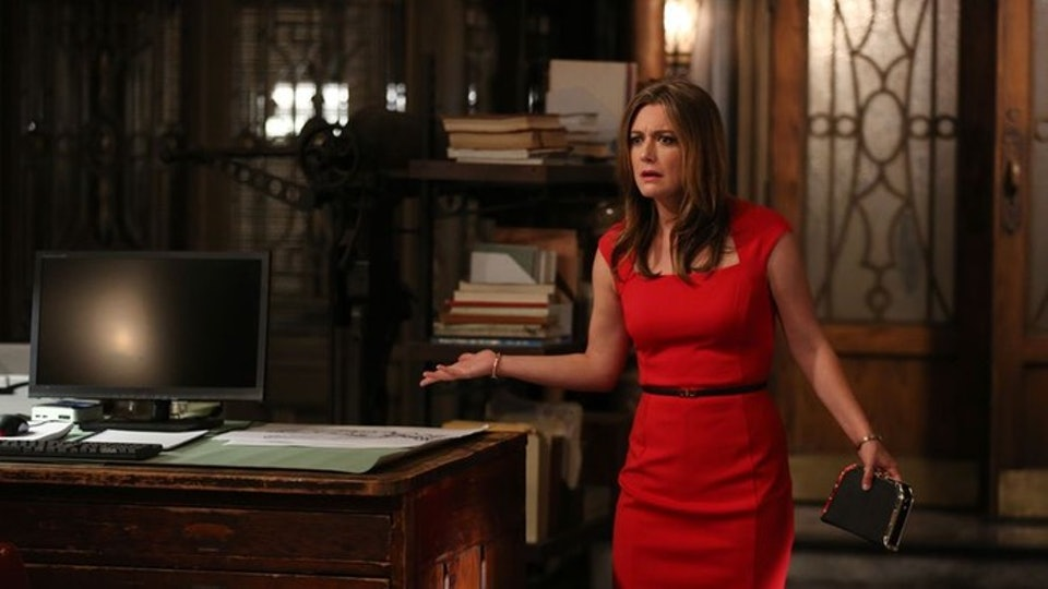 Who Plays Ruland On Scandal Zoe Perry Is The Mystery Woman