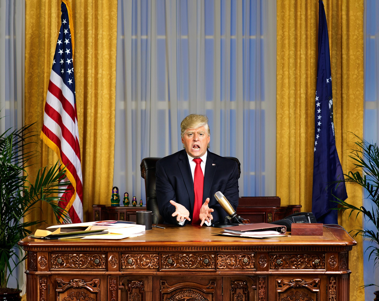 U0027The President Showu0027 Wonu0027t Normalize Trump, According To Host Anthony  Atamanuik. U0027