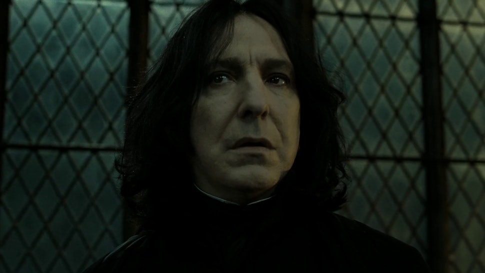 What If Snape Didn't Die? This Harry Potter Fan Theory Could