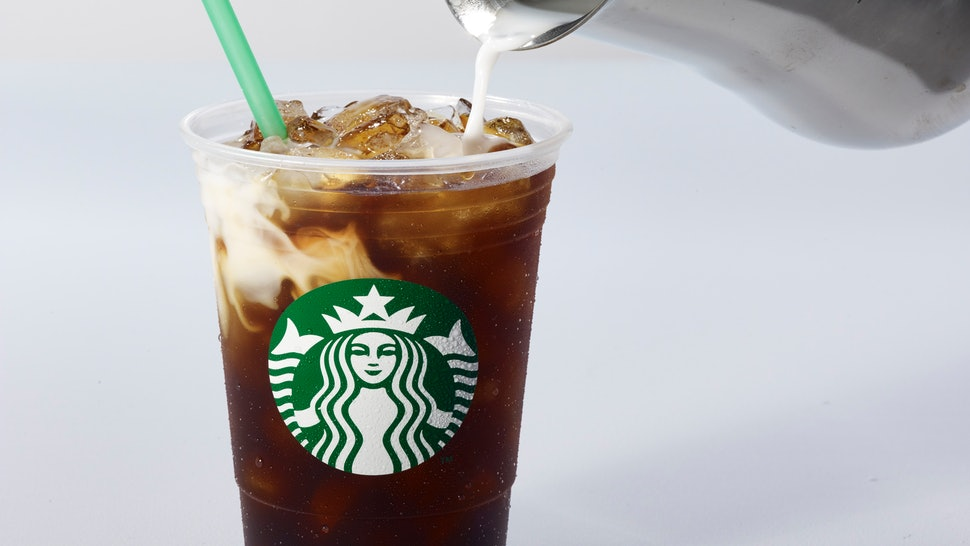 What S In Starbucks Toasted Coconut Cold Brew This Iced