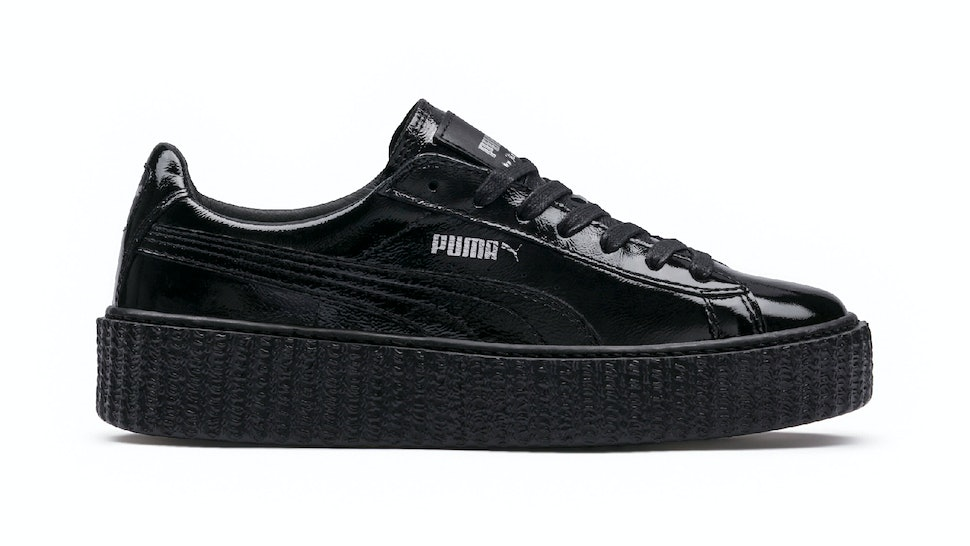 low priced 5e19b 4f7aa When Are The Leather Rihanna Puma Creepers Out? The Shopping ...