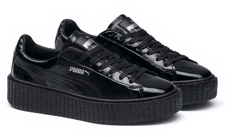 huge selection of fa0ab d0ca6 Are The Rihanna Leather Puma Creepers Sold Out? The Latest ...