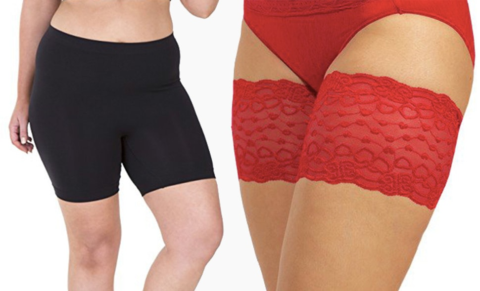 how to stop chafing between thighs