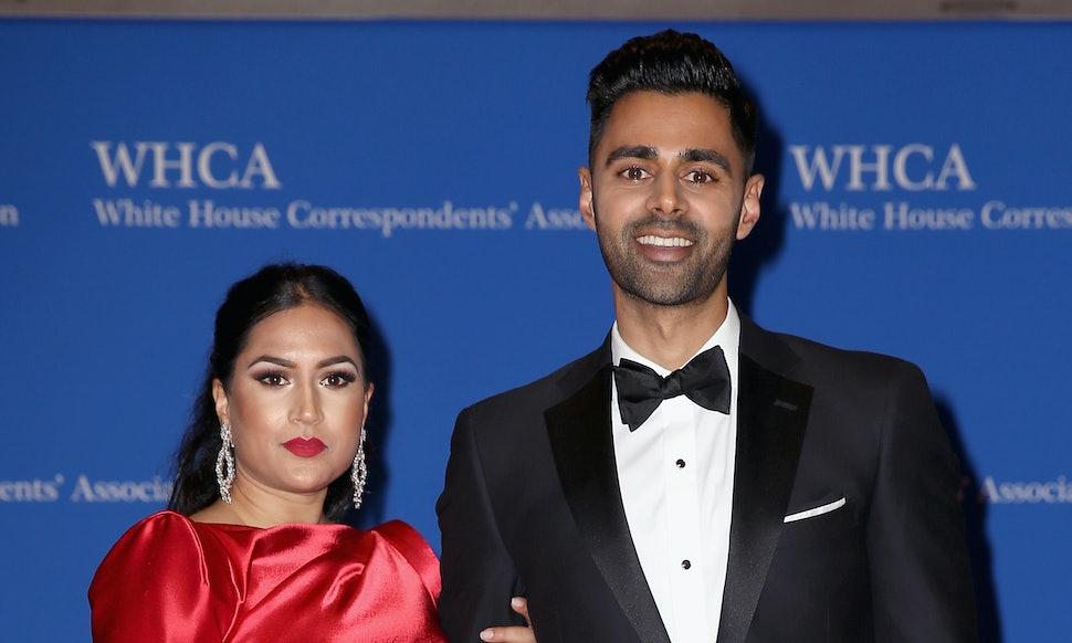 Hasan Minhaj with charming, Wife Beena Patel