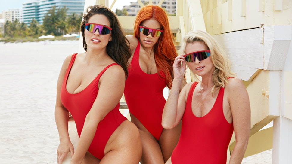 bf51092221 Swimsuits For All's 'Baywatch' Inspired Campaign Starring Ashley ...