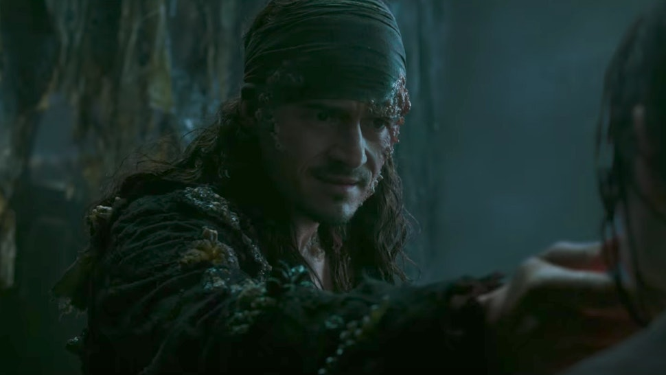 the pirates 5 post credits scene hints at a will turner sequel