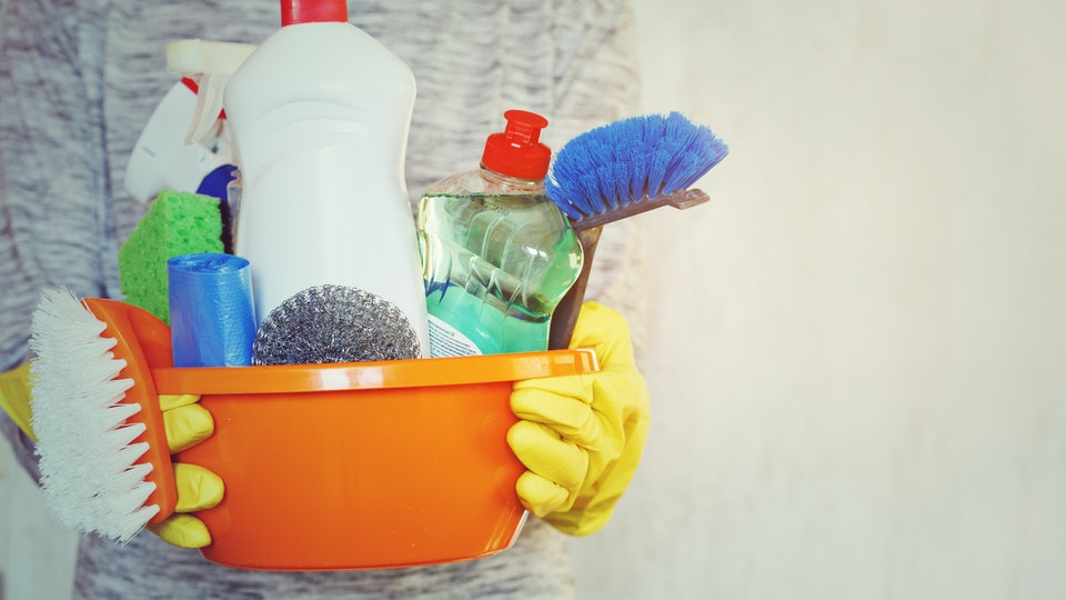 Can You Use Cleaning Products If You're Pregnant? You May