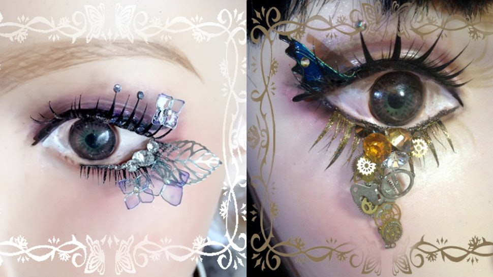 This Japanese Artist Makes False Lashes That Are Absolutely Unreal
