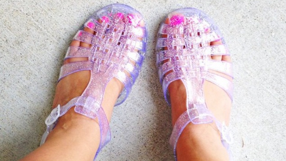 0a7f377af425 Where To Buy Jelly Sandals In 2017 For A Nostalgically Stylish Summer