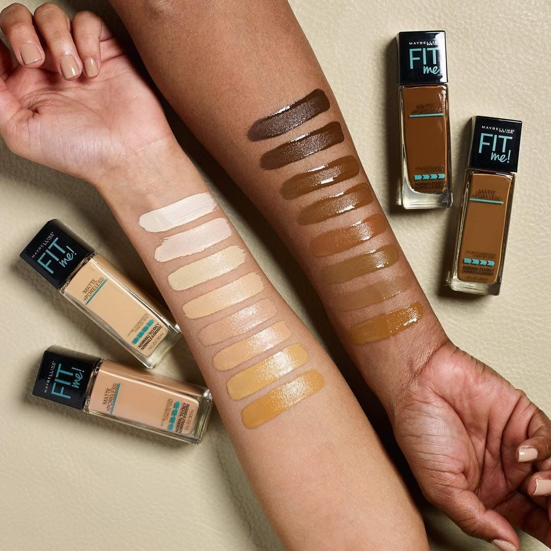 Maybelline Fit Me Foundation Expands To 16 Different Shades Becoming Even More Diverse