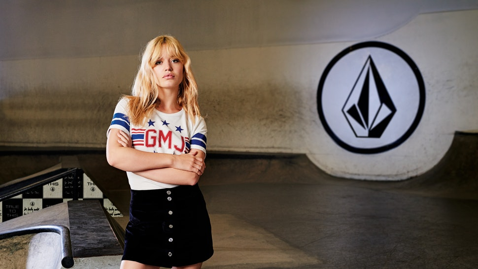 196a6e30f The Volcom x Georgia May Jagger Collab Is The Streetwear Collection ...