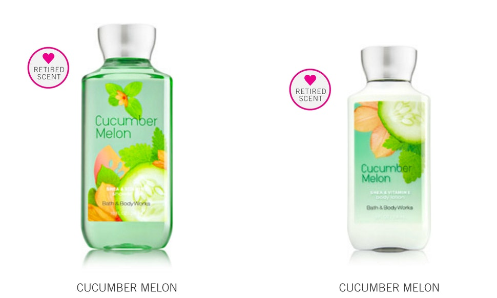 these 10 39 90s bath body works scents are back for a limited time. Black Bedroom Furniture Sets. Home Design Ideas