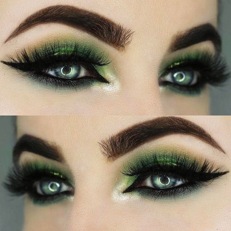 The Emerald Eye Makeup Trend That S