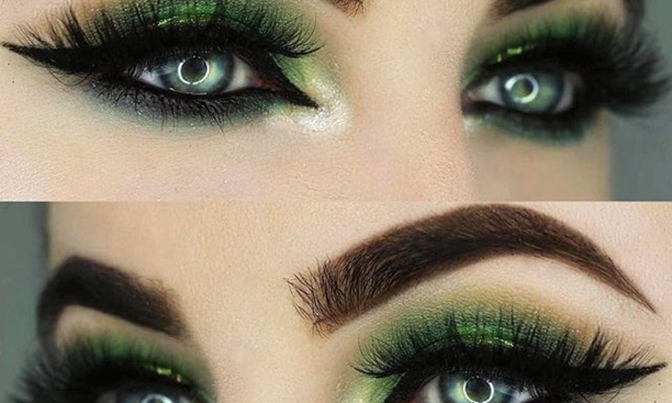 The Emerald Eye Makeup Trend Thats Taking Over Instagram Will