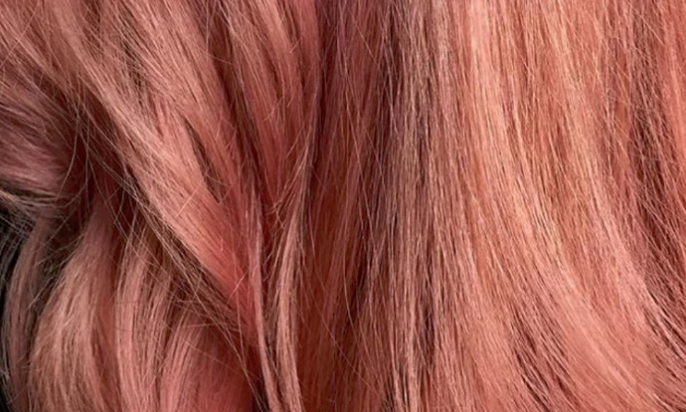 Pink Champagne Hair Is All The Summer Color Goals