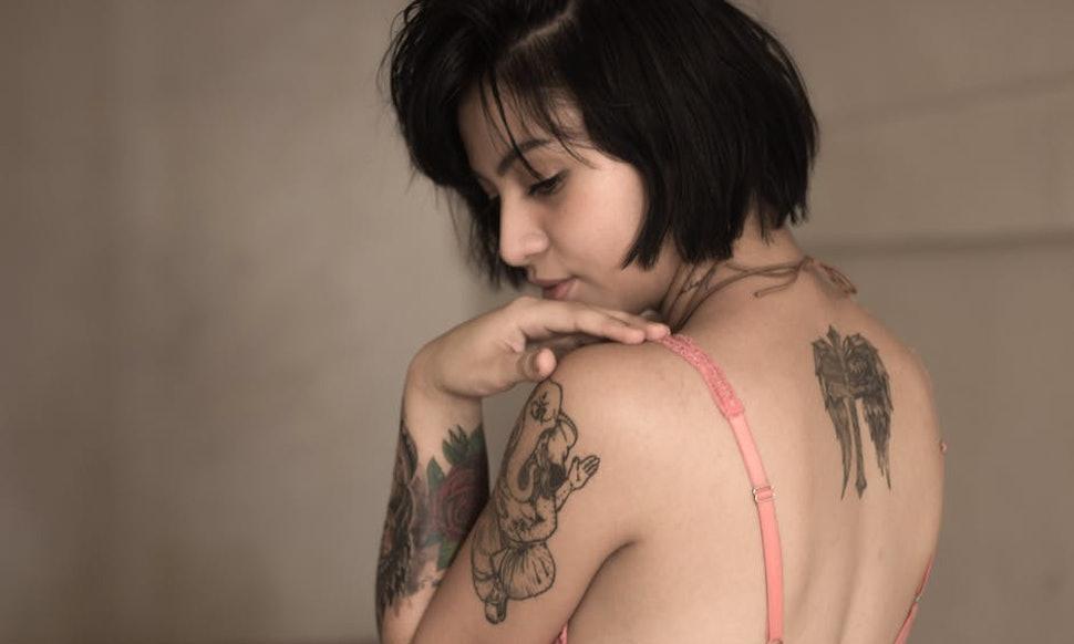 Girl with longest nipples #4