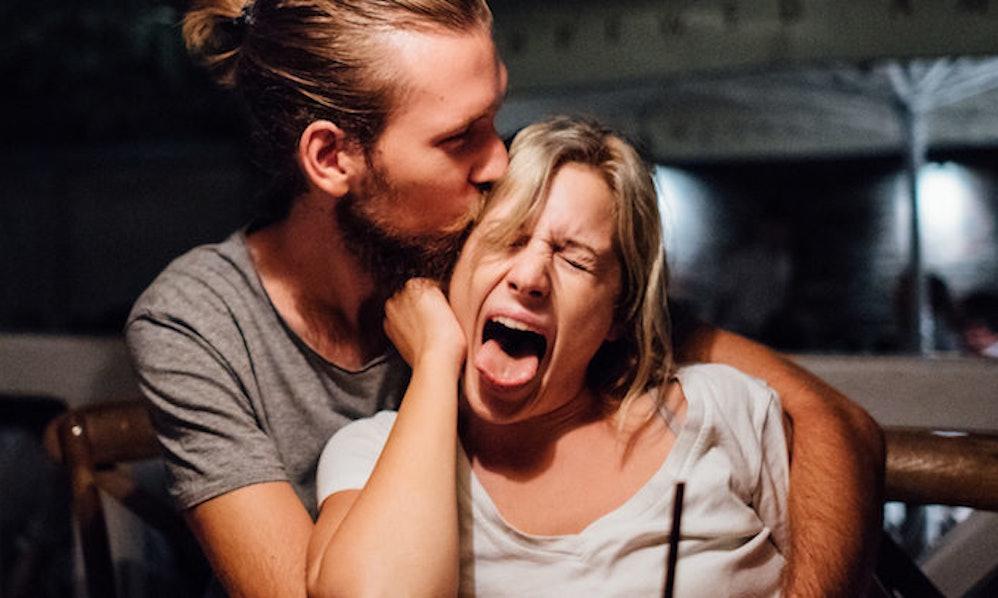 Guy farts while wife lick ass, michaela conlin bikini pictures