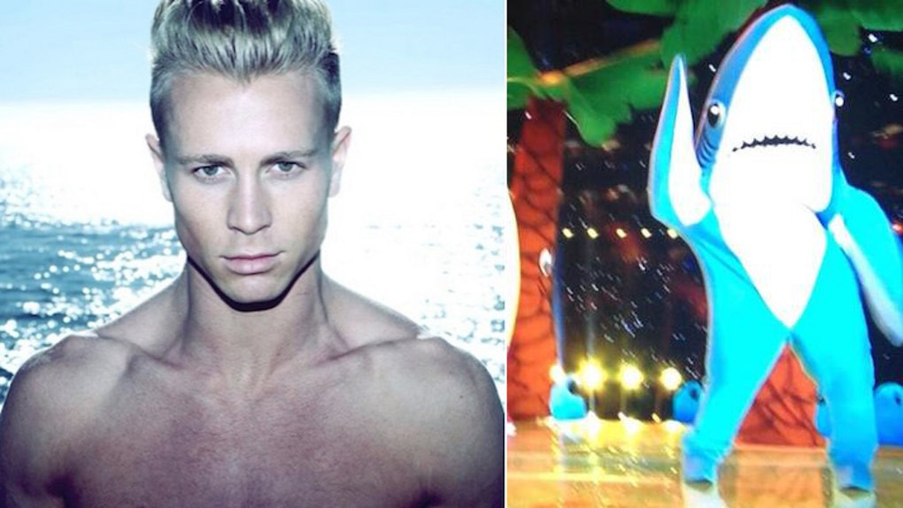 One Of Katy Perry S Dancing Sharks Is Actually An Insanely Hot Guy