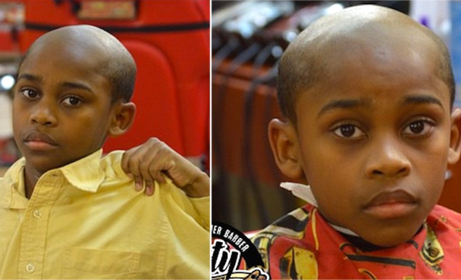 Barbershop Gives Old Man Haircuts To Kids As A Hilarious Punishment