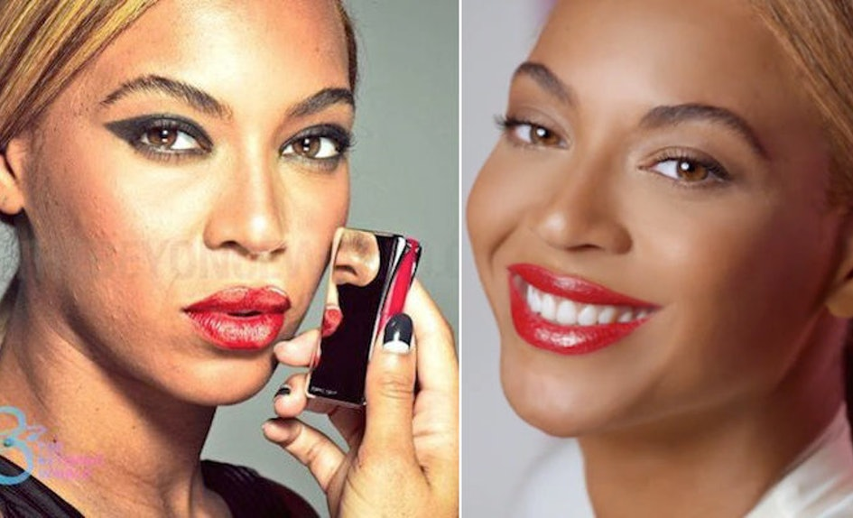 Youll Bug The Fck Out When You See Beyonc Without Photo Retouching