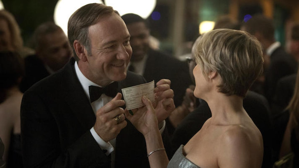 How House Of Cards Is Like A Political 50 Shades Of Grey