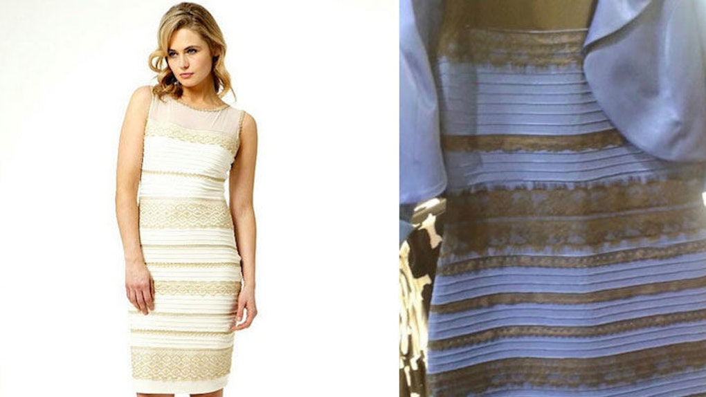 You Can Now Buy The Dress In Either Blue And Black Or White And Gold