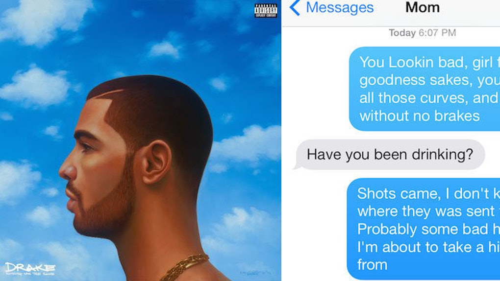 There\'s Now An App That Lets You Text Solely Using Drake Lyrics