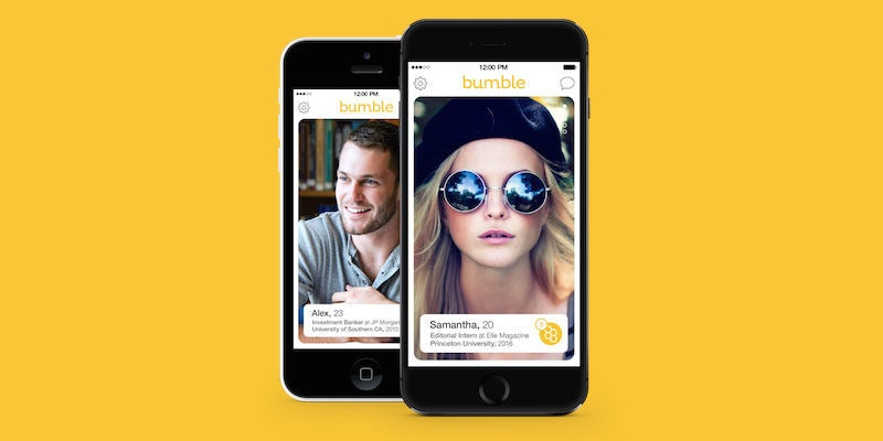 Dating app girl makes first move