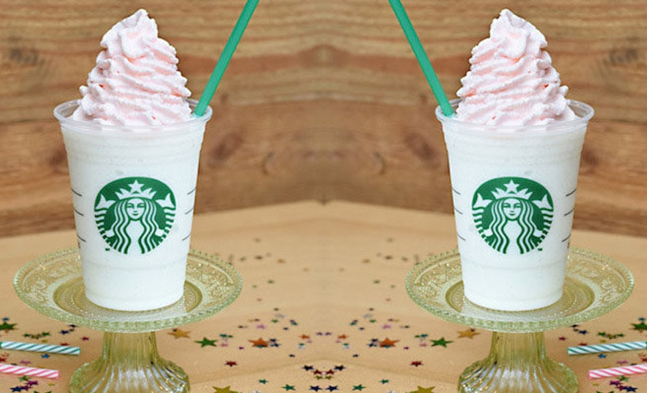 Omfg Starbucks Is Serving Birthday Cake Frappuccinos For Five Days