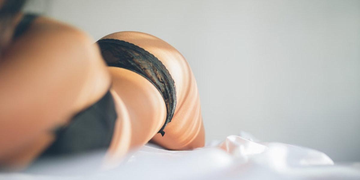 Girl in panties