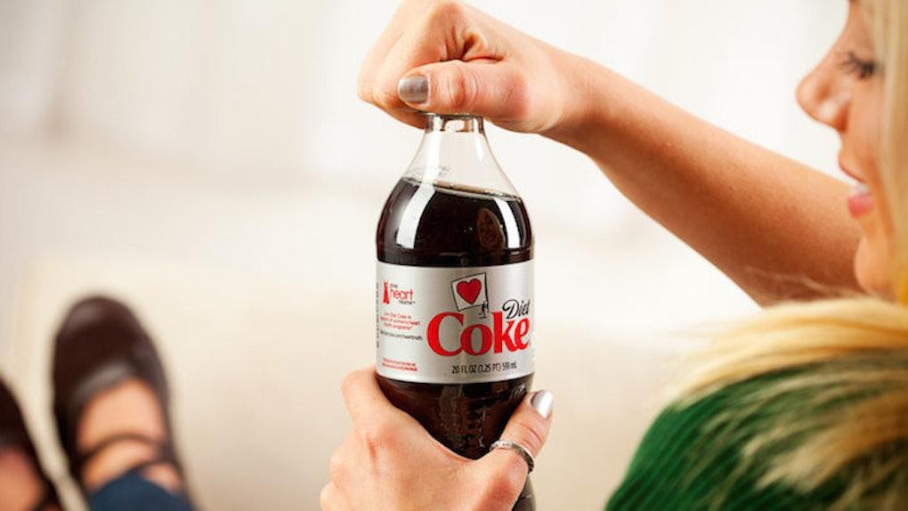 is diet soda in morning bad