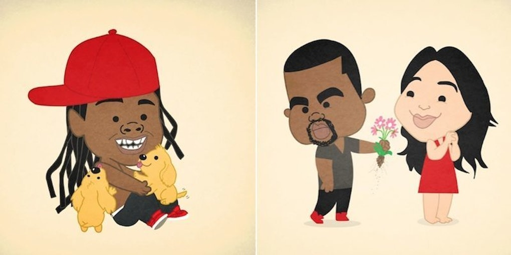 Artist Creates Absolutely Spot On Illustrations Of Famous Rappers