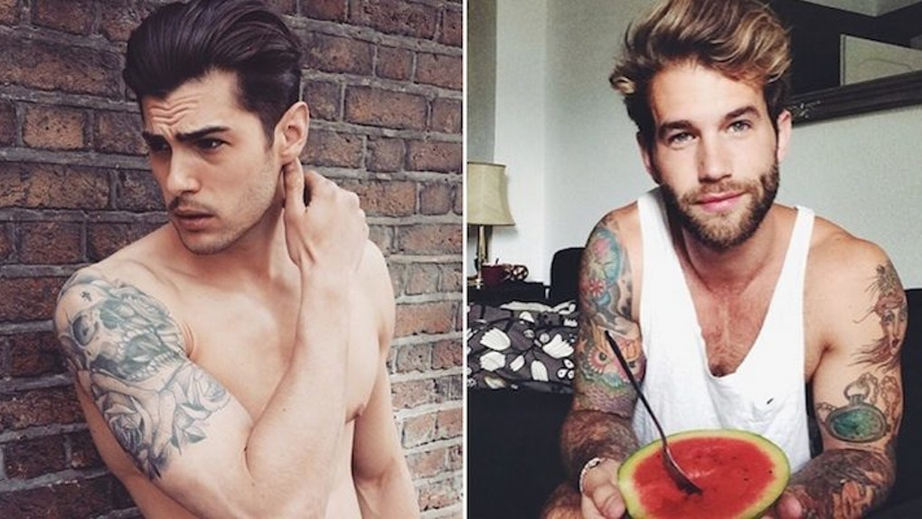 0714d0546 20 Guys With Tattoos That Make Them Hotter Than They Already Are