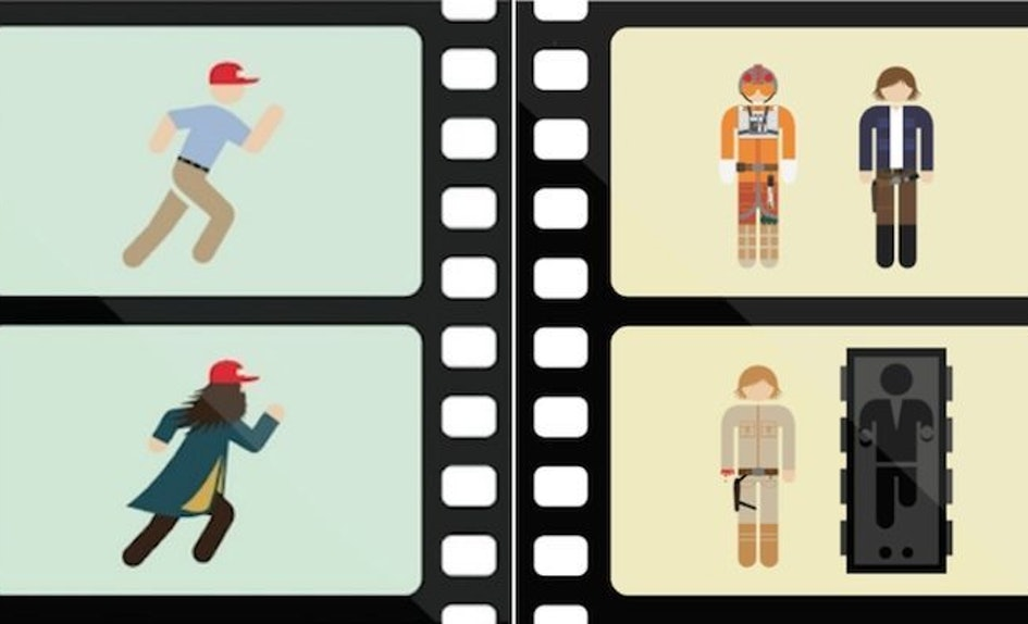 Clever Movie Posters Use Just Two Frames To Explain Each Storyline ...