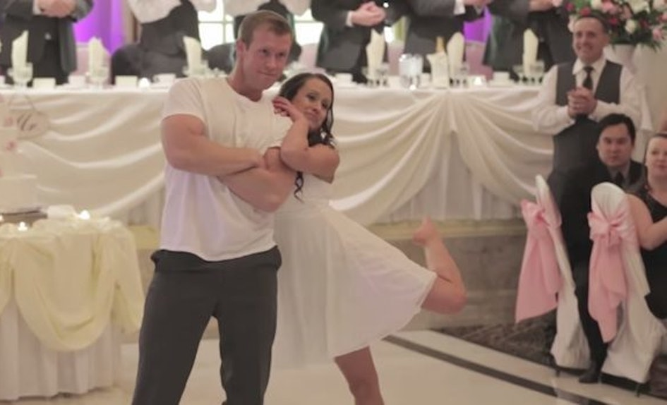 Newlyweds Surprise Wedding Party With An Epic Choreographed Dance