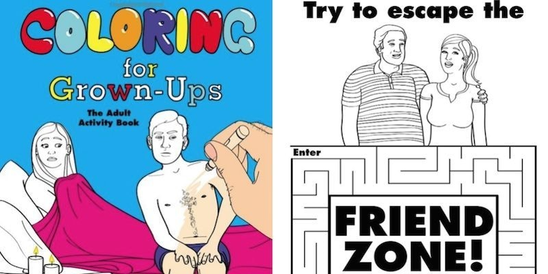 Hilarious Coloring Book For GrownUps Knows Adult Life Way Too Well