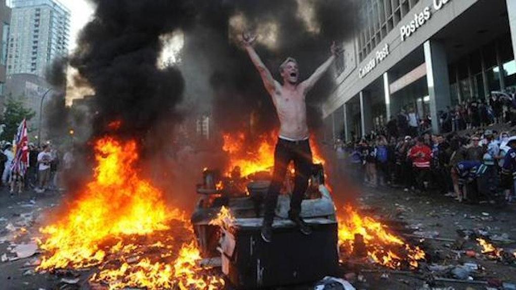 Keene state riot pumpkinfest