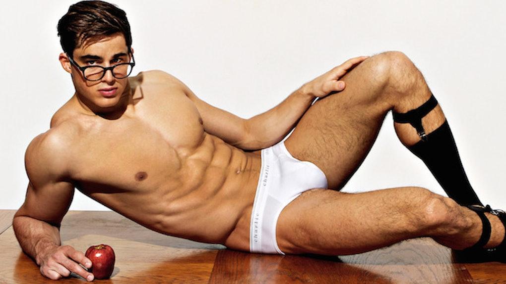 b9d76a097fd The World's Hottest Professor Did A Teacher-Themed Male Underwear Shoot
