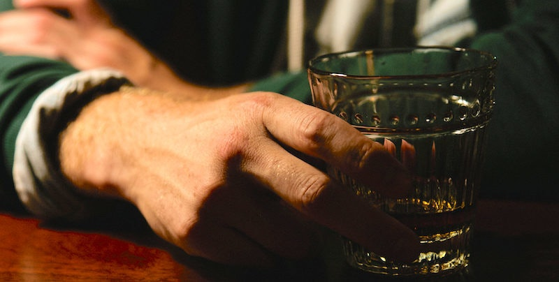 Drinking burbon and male sex performance