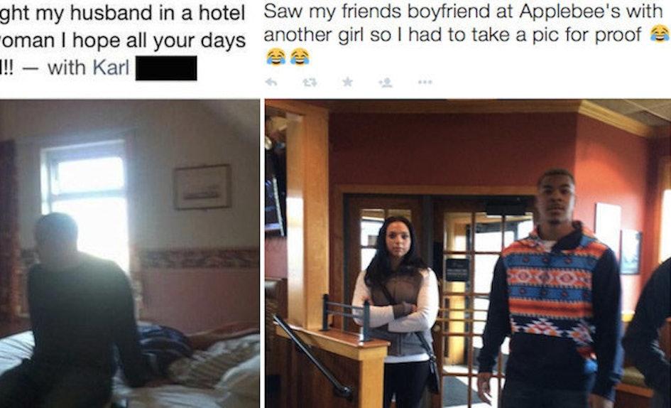 cheaters caught having sex